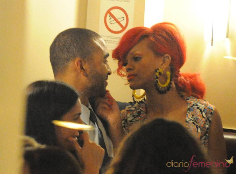Rihanna y Matt Kemp, almuerzo en Paris