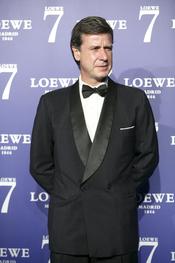 Cayetano Martínez de Irujo en la presentación de la fragancia 7 de Loewe Madrid