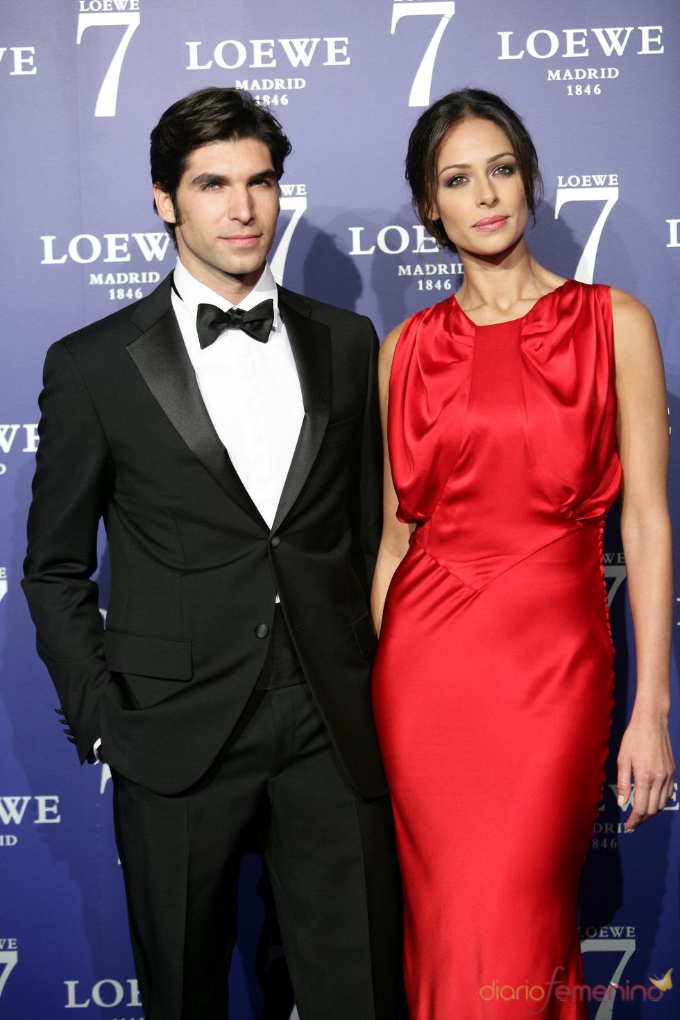 Cayetano Rivera y Eva González en la presentación de la fragancia 7 de Loewe Madrid