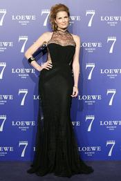 Olivia de Borbón en la presentación de la fragancia 7 de Loewe Madrid