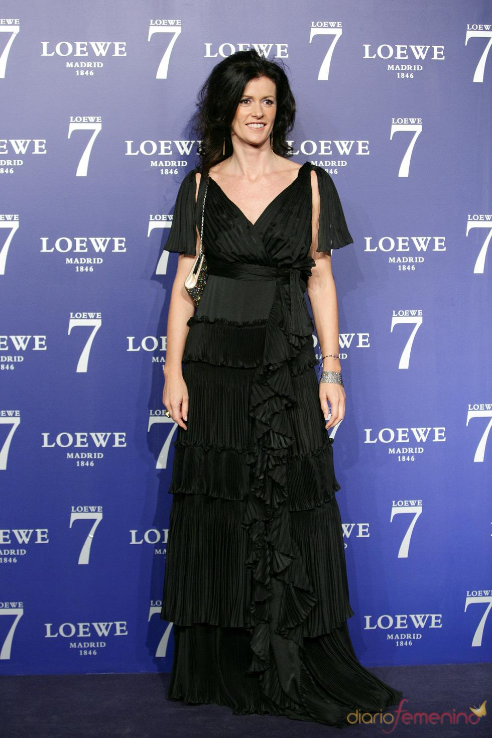 Nuria March en la presentación de la fragancia 7 de Loewe Madrid