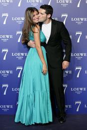 Manu Tenorio y Silvia Casas en la presentación de la fragancia 7 de Loewe Madrid