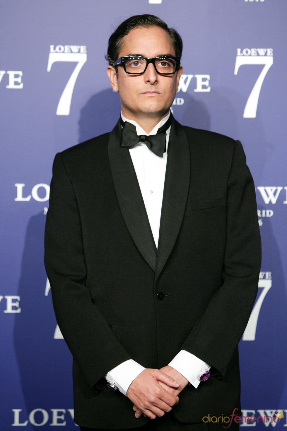 Jousi en la presentación de la fragancia 7 de Loewe Madrid