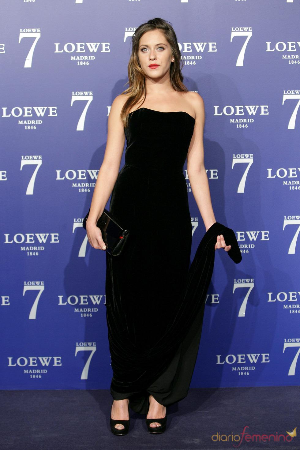 María León en la presentación de la fragancia 7 de Loewe Madrid
