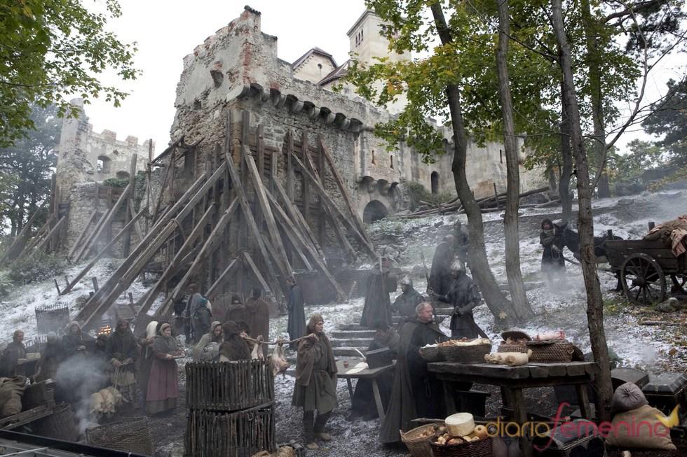 El palacio de Waleran en 'Los pilares de la Tierra'