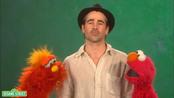 Colin Farrell en 'Barrio Sésamo'