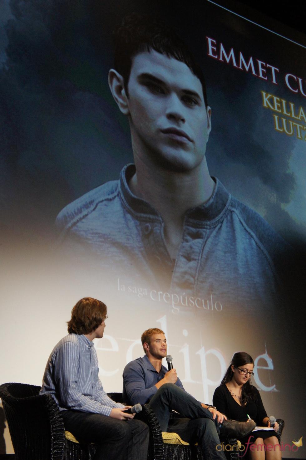 Kellan Lutz presenta el DVD de 'Eclipse' en Sitges