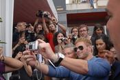 Kellan Lutz hizo las delicias de cientos de fans en Sitges