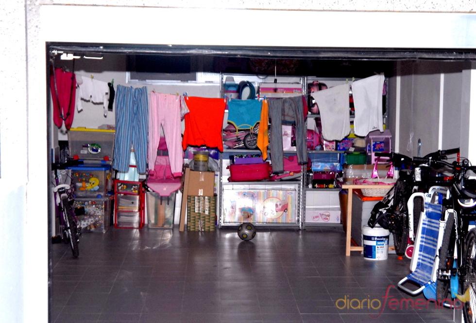 El garaje de Belén Esteban