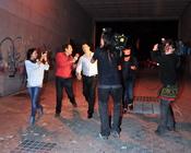 Fran Álvarez viaja a casa de sus padres asediado por la prensa