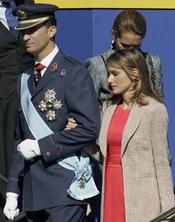 Letizia y Felipe en el Día de la Hispanidad de 2006