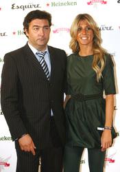 Rafa Camino y su entonces Natalia Álvarez