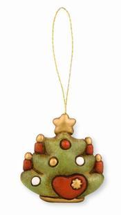 Adorno árbol navidad rojo PVP: 9,90€