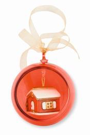 Bola de cristal roja casa 17,90€