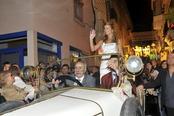 Carla Goyanes y su paseo triunfal por Sant Sadurní d'Anoia