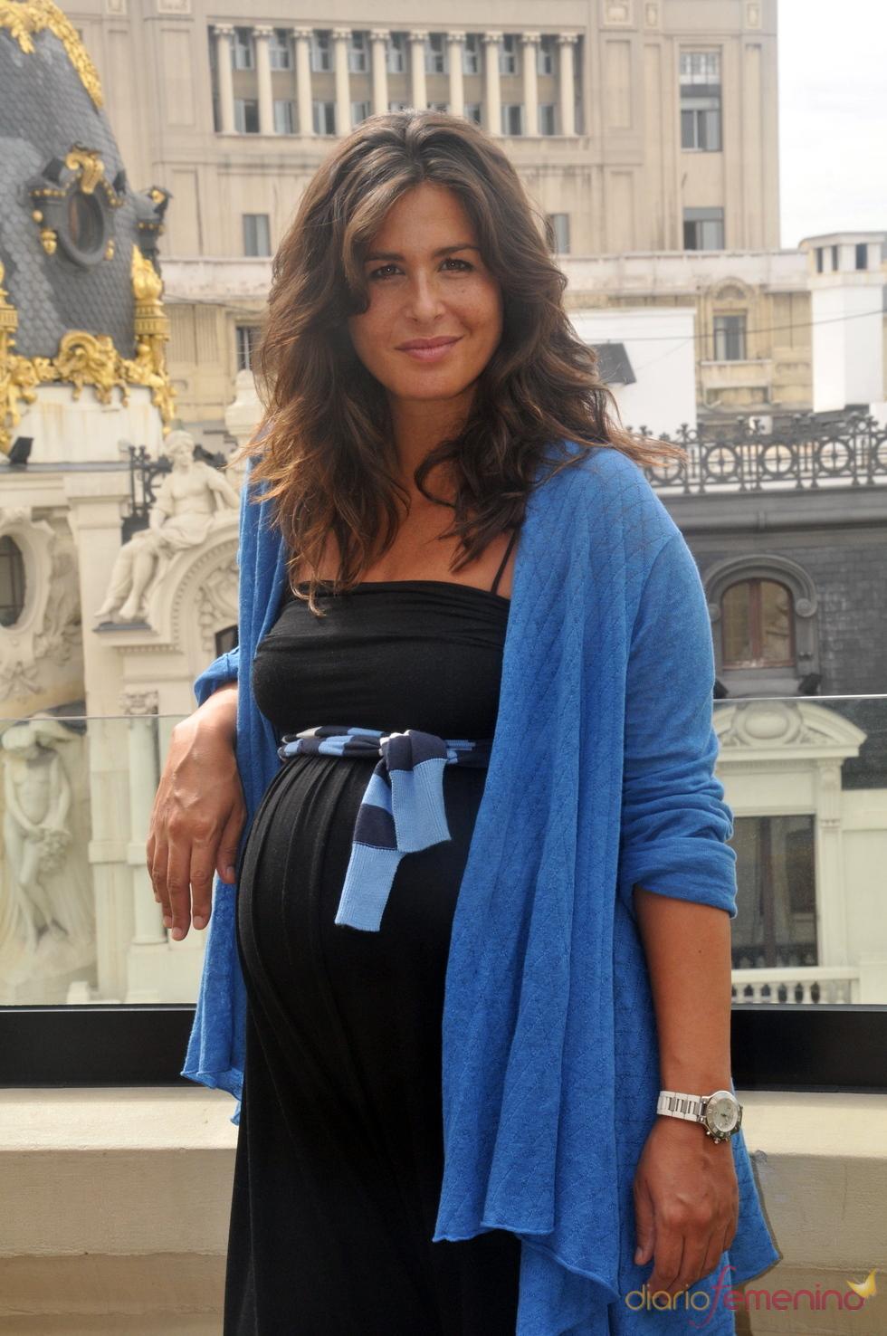 Nuria Roca embarazada de su tercera hija