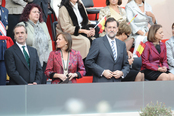 Mariano Rajoy asiste al desfile de las Fuerzas Armadas