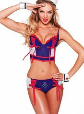Disfraz sexy de marinera para Halloween