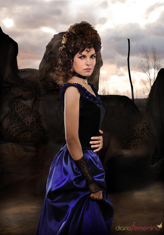 Eva Pedraza en el rodaje de 'Tierra de Lobos'