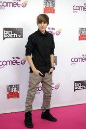 Justin Bieber, presentador de la retransmisión on line de los Premios MTV europeos