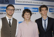 Los actores de Red Social