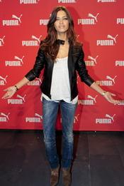 Sara Carbonero inaugura la nueva tienda Puma en Barcelona