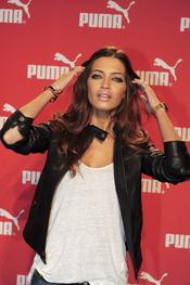 Sara Carbonero, madrina en la inauguración de Puma en España