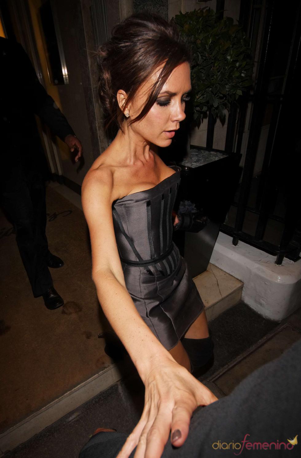 Victoria Beckham reconoció su anorexia en 2007