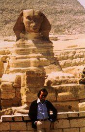 Julio Iglesias en las Pirámides de Guiza