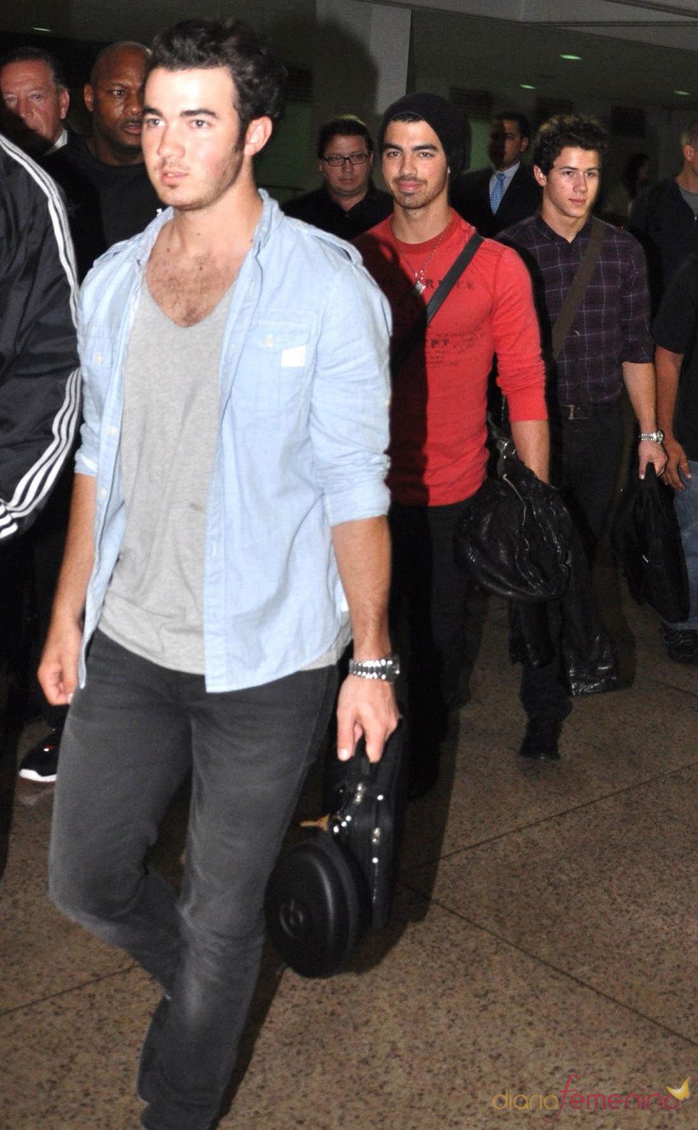 La llegada de los Jonas Brothers a Puerto Rico