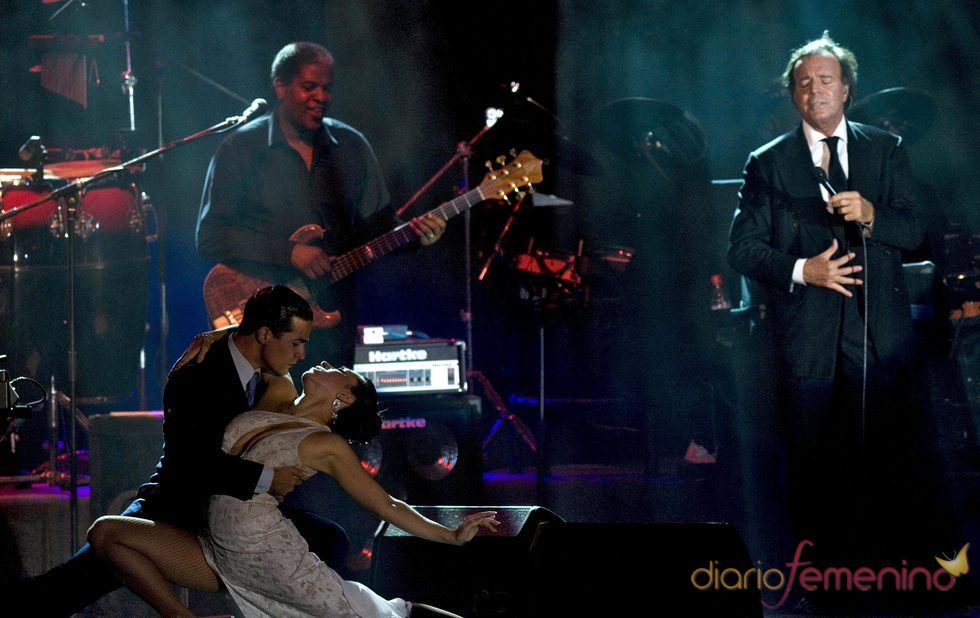Concierto de Julio Iglesias en Egipto