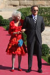 La duquesa de Alba y su novio Alfonso Díez