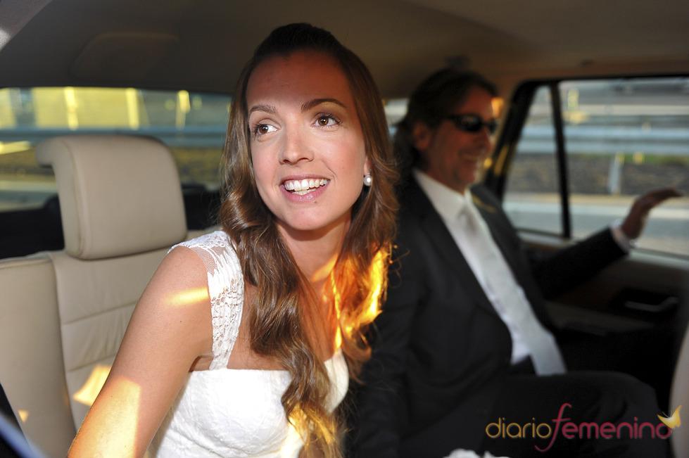 Bárbara, la recién estrenada esposa del hijo de Rocío Durcal