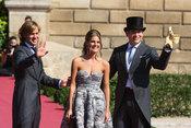 Rosauro Baro, Amaia Salamanca y Boris Izaguirre de boda