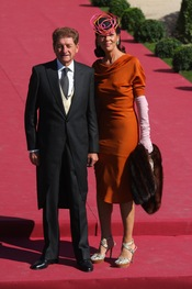 Rafael Medina y Laura Vecino reúnen a la alta sociedad en su boda