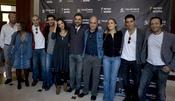 El equipo artístico de 'Alkrana' en la Mostra de Valencia