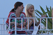 Christina Aguilera 'celebra' su separación en Hawai