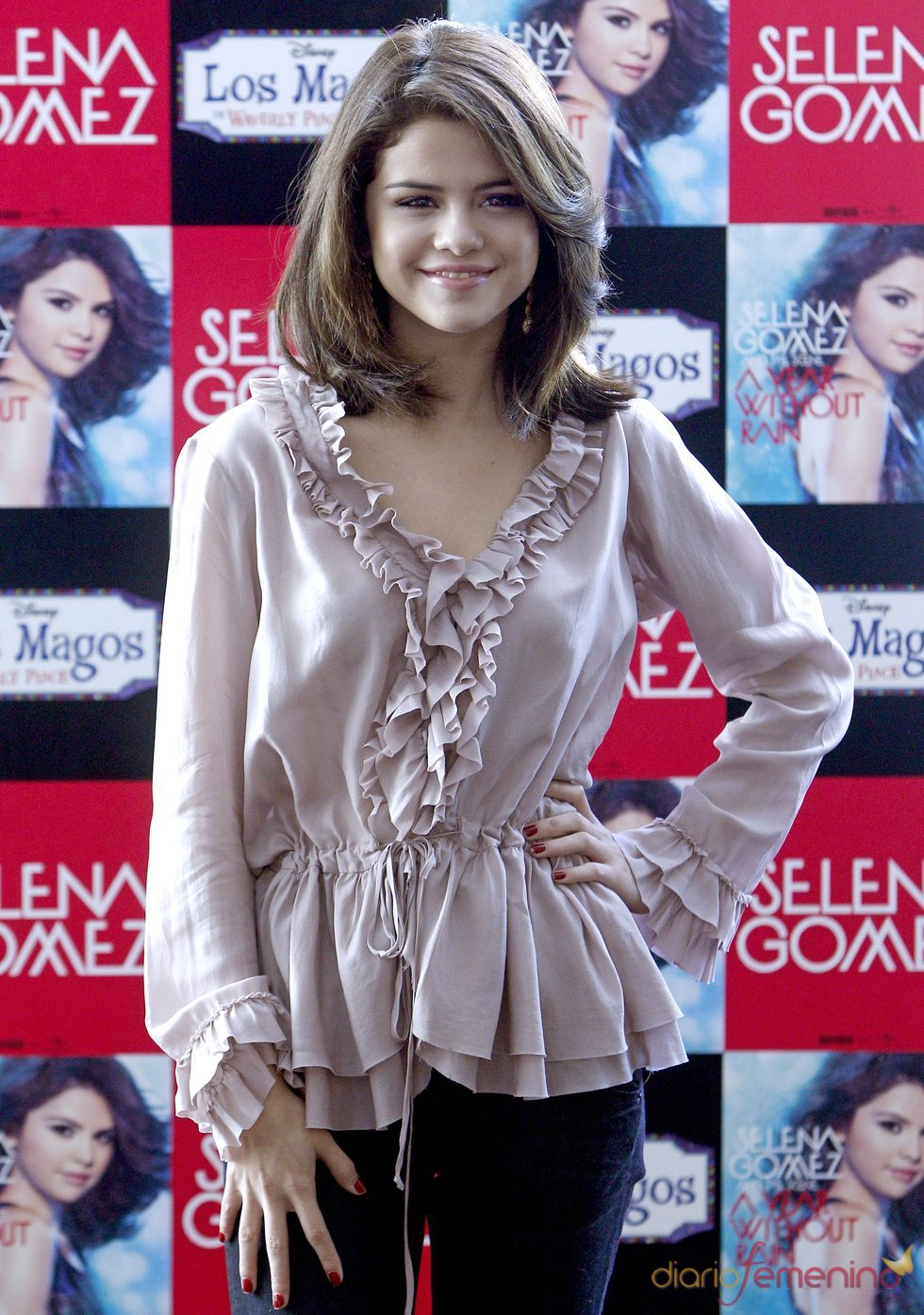 Selena Gomez presenta en Madrid 'A year without rain'