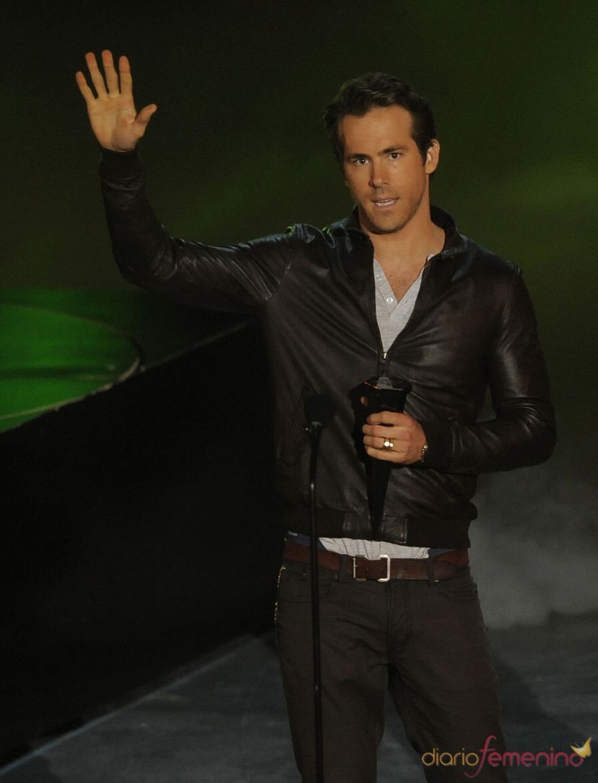Ryan Reynolds en los Scream Awards