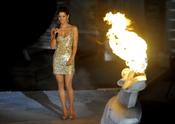 Halle Berry en el escenario de los premios Scream Awards
