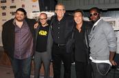 El equipo de 'Lost' junto a Jorge García en los Scream Awards