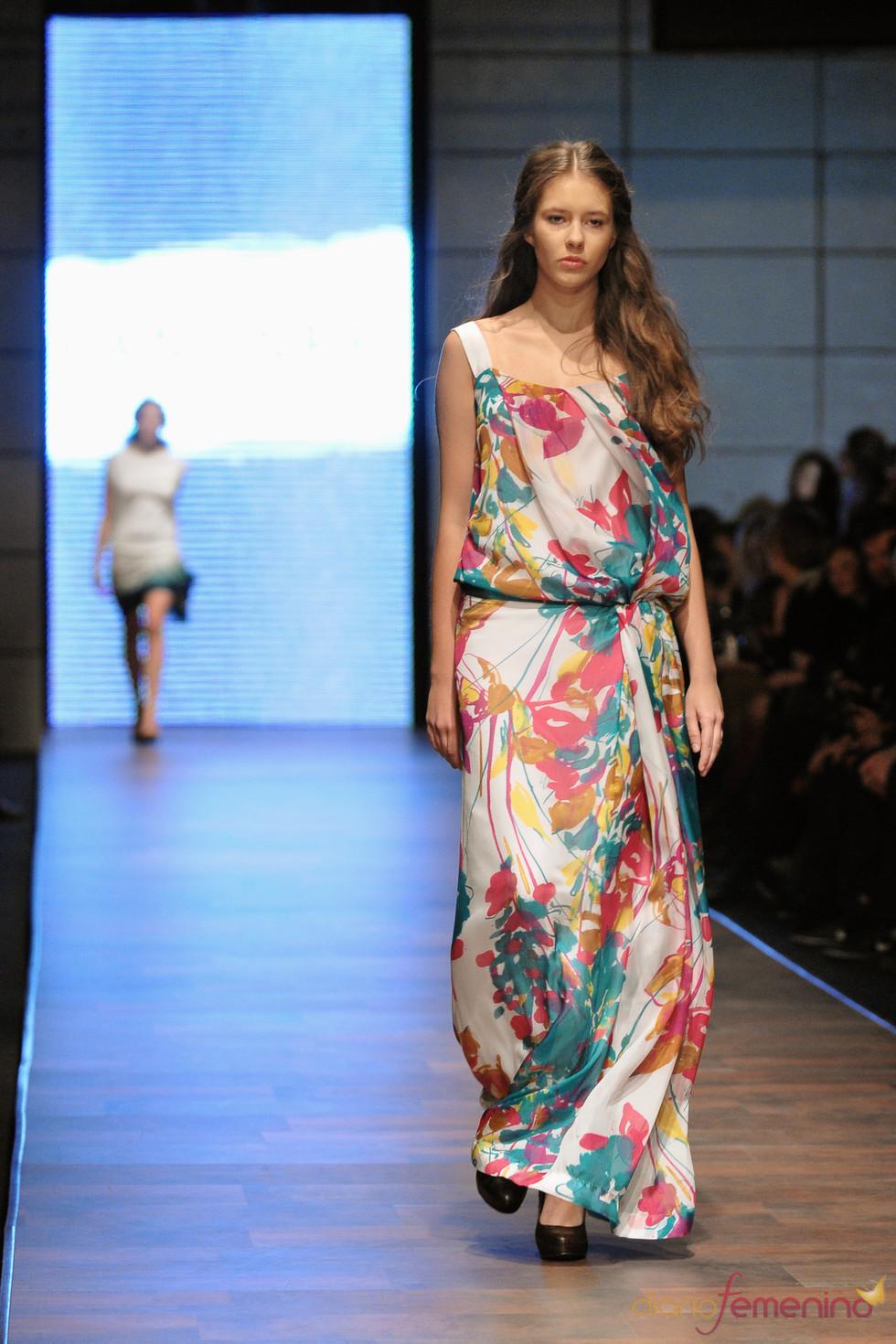 Langner en la Poland Fashion Week