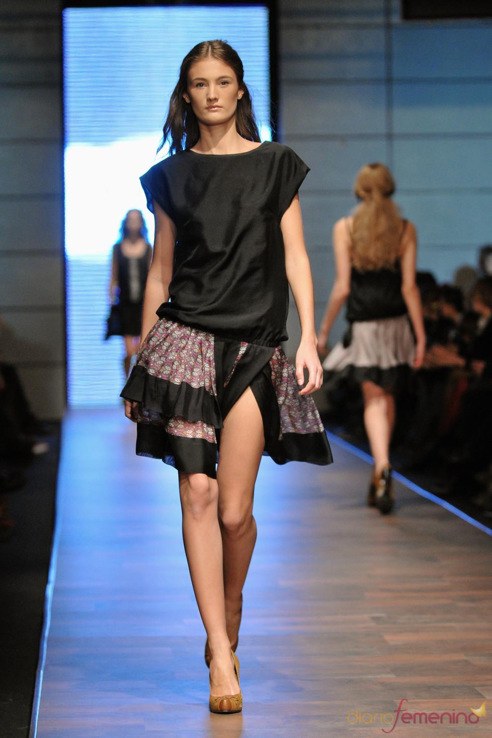 Vestido dos piezas de Langner en la Poland Fashion Week