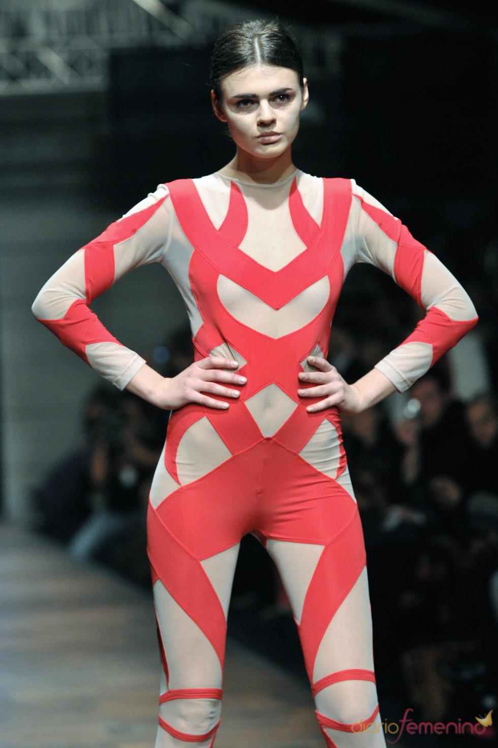 Agnieszka Maciejak en la Poland Fashion Week