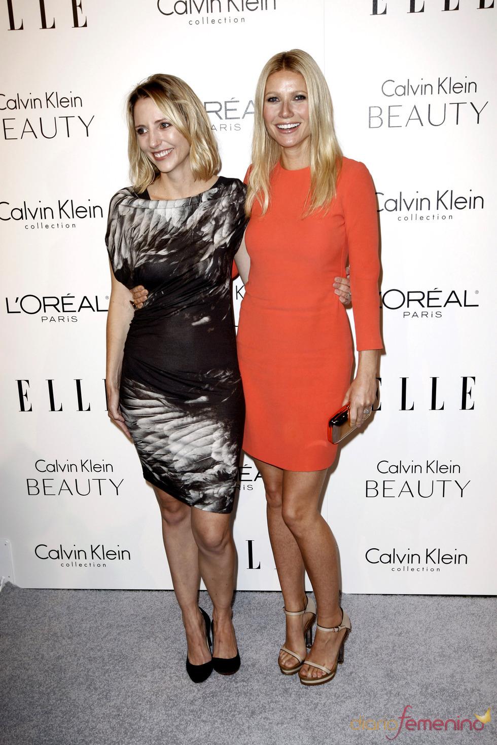 Gwyneth Paltrow y Shana Feste posan juntas