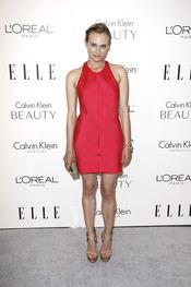Diane Kruger en la fiesta Elle 2010