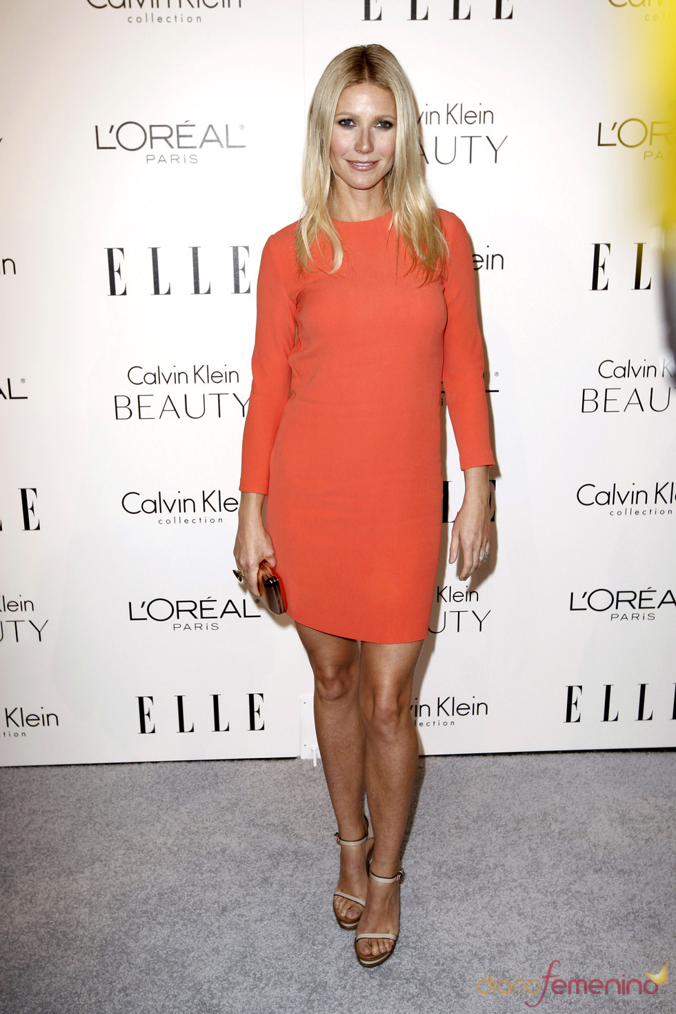 Gwyneth Paltrow en la fiesta Elle 2010