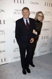 Harrison Ford y Diane Keaton posan juntos