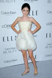 Isabelle Fuhrman en la fiesta Elle