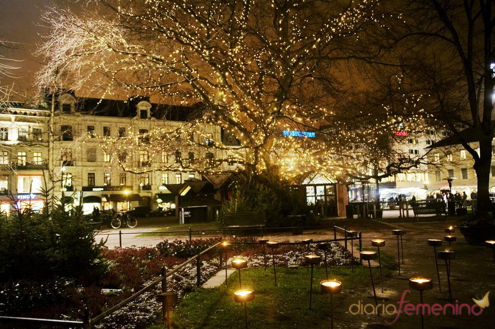 Navidad en Malmö, Suecia